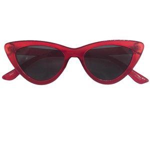 Accessories - 4/25🌹Cherry Red Cat Eye Sunglasses
